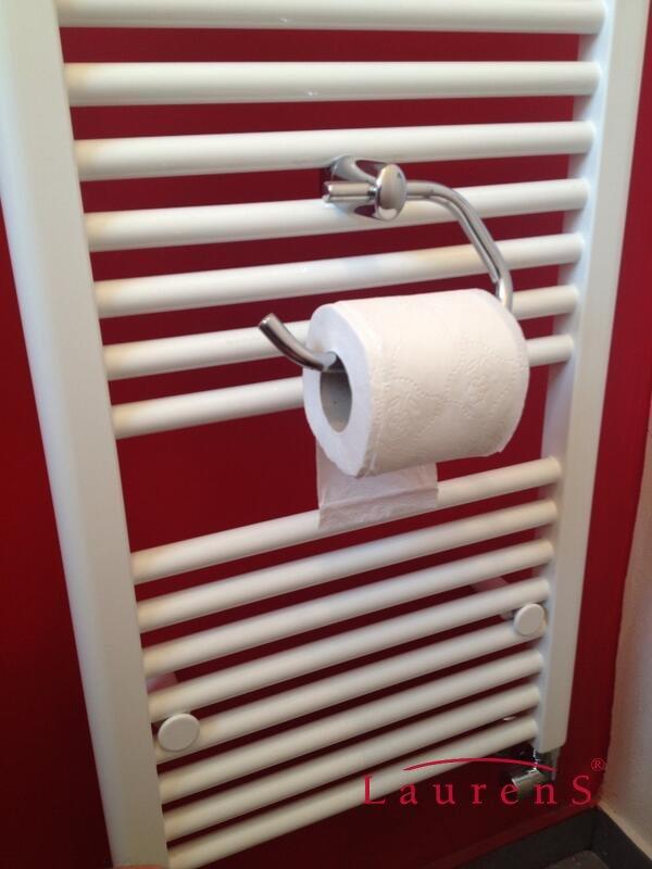 heizk rper laurens toilettenpapier halter f r badheizk rper. Black Bedroom Furniture Sets. Home Design Ideas