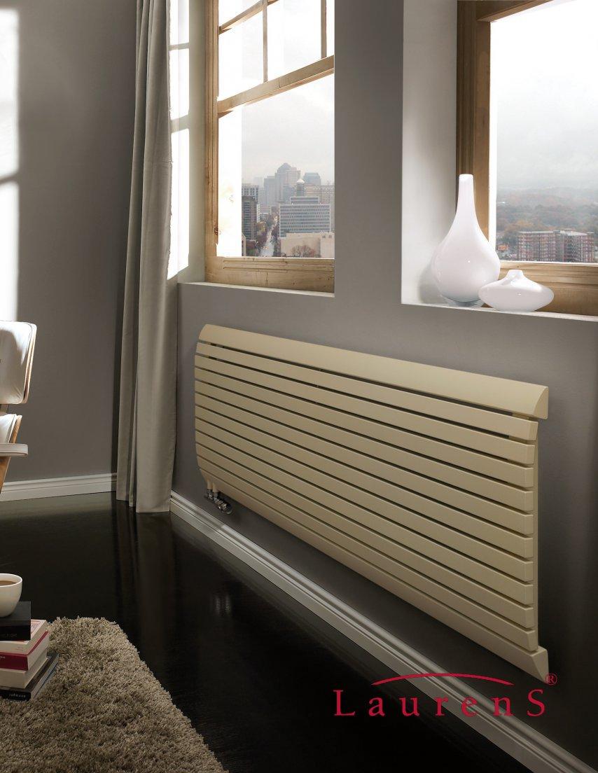Laurens radiatoren terra horizontale designradiator Design radiatoren woonkamer