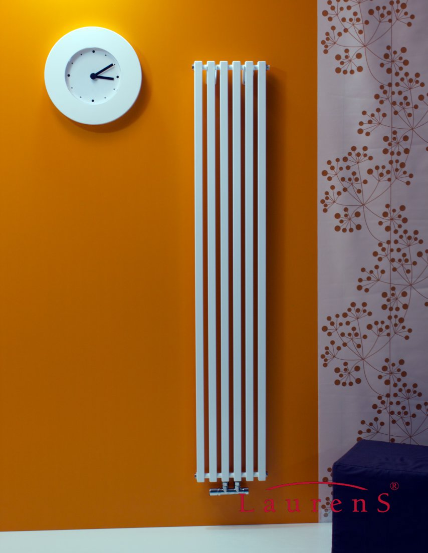Laurens radiatoren quadrix verticaal designradiator for Design radiatoren woonkamer