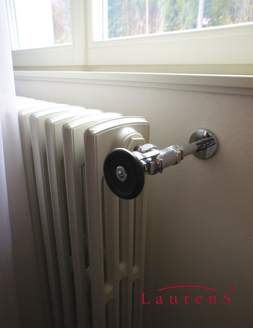 heizk rper laurens ventile retro wheel mit steuerrad aus. Black Bedroom Furniture Sets. Home Design Ideas